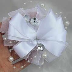 Free-Form Satin Boutonniere (Sold in a single piece) -