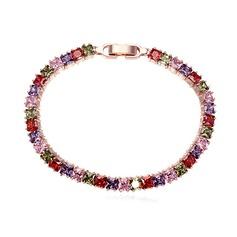 Mode Zirkoon/Platina Vergulde Dames Armbanden