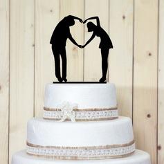статуэтка Сладкая любовь акрил Свадьба Фигурки для торта/Свадебный душ Фигурки для торта