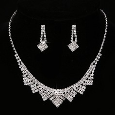 Estilo de la vendimia Diamantes de imitación/cobre con Rhinestone Señoras' Sistemas de la joyería