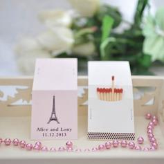 Personlig Eiffeltornet Mallen hårt papper (Sats om 50)