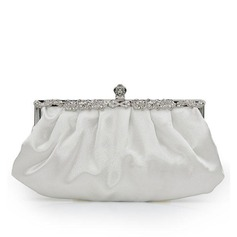 Charming Silk/Crystal/ Rhinestone Clutches