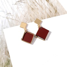 Beautiful Alloy Leatherette Women's Fashion Earrings