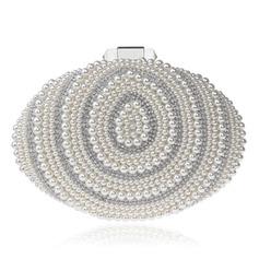 Elegant Perlebesat Koblinger/Skoletaske