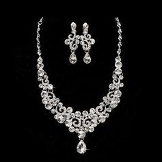 Elegant Legering Damer' Smycken Sets