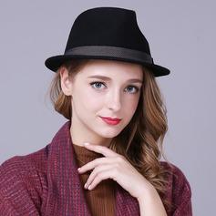 Damen Schöne Wollen Bowler/Kapotthut
