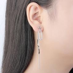 Beau Cuivre/Zircon de avec Zircon cubique Boucles d'oreilles