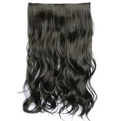 syntetiska hår Klämma i hårförlängningar (Säljs i ett enda stycke) 130g