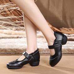 De mujer Piel Encaje Zapatillas Estilo Moderno Jazz Zapatillas Zapatos de danza