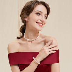 Alloy/Imitation Pearls Ladies' Jewelry Sets