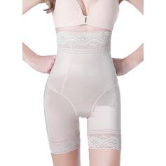 Kvinder Classic/Elegant Chinlon/Nylon Åndbarhed/Balde Lift Høj Talje Shorts Formet tøj