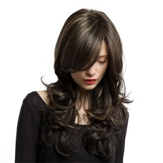 Wavy Long Synthetic Wigs African American Wigs