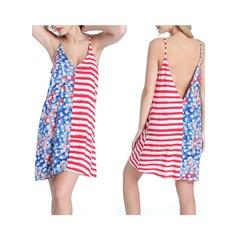 Vakkert Blomster Strand kjole