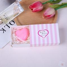 """Love Story""/Heart Shaped Heart Shaped Soap Creative Gifts"