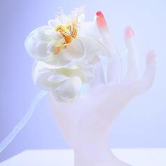 Attaché à la main Soie artificielle Corsage du poignet -