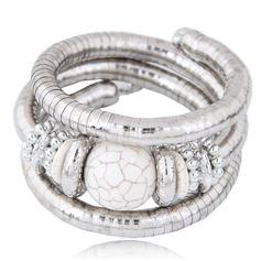 Mode Alliage Résine Femmes Bracelets de mode (Vendu dans une seule pièce)