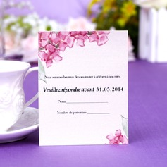 Personalized Floral Style Response Cards (Set of 50) (114054986)