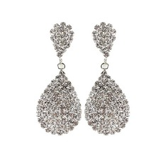 Exquisite Alloy/Rhinestones Ladies' Earrings