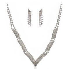 Lindo Liga/Strass Senhoras Conjuntos de jóias