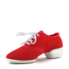 Women's Mesh Sneakers Modern Practice Dance Shoes