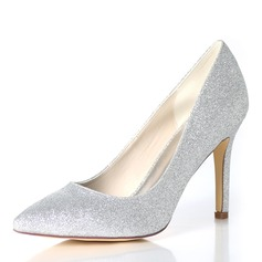 Women's Sparkling Glitter Stiletto Heel Pumps (047195494)