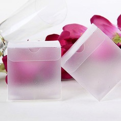 Translucent Cubic Favor Boxes