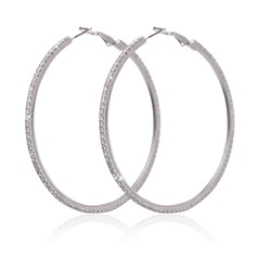 Classic Alloy/Rhinestones Ladies' Earrings