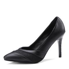 Frauen Kunstleder Stöckel Absatz Absatzschuhe Geschlossene Zehe mit Andere Schuhe
