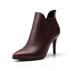 Leatherette Stiletto Heel Pumps Ankle Boots shoes