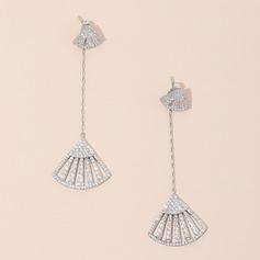 Drop Earrings Unique Zircon Pierced Earrings (291212038)