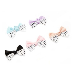 Lovely Bowknot Polyester Decorative Accessories (set of 50)