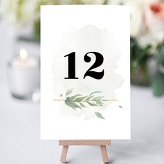 Billboard Paper Personalized Pretty Beautiful Table Centerpieces