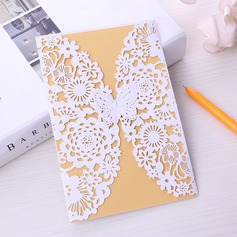 Fairytale Style/Butterfly Style Double Gate-Fold Invitation Cards (Set of 50)