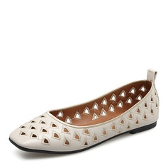 Women's Leatherette Flats Closed Toe shoes