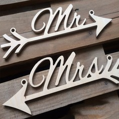 """Mr&Mrs"" Wedding Sign(set of 2)"