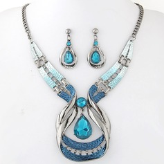 Mode Legering Resin Damer' Smycken Sets