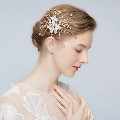 Klassische Art Legierung Stirnbänder mit Strass/Venezianischen Perle/Kristall (In Einem Stück Verkauft)