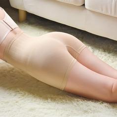 Mulheres Clássico Chinlon/Nailon Cintura Alta Meio Corpo Calcinha shaper do corpo