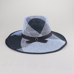 Ladies' Beautiful/Simple Polyester Floppy Hats/Straw Hats/Beach/Sun Hats