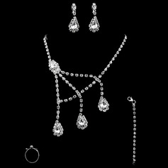 Mode Assortiment avec Strass Dames Ensembles de bijoux