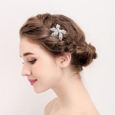 Senhoras Charmosa Liga/Falso pérola Grampos de cabelo (Vendido em uma única peça)
