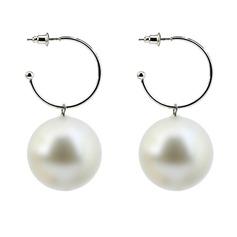 Lysande Legering Fauxen Pärla Mode örhängen