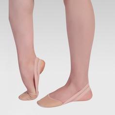 Kvinner Lær Flate sko Ballett Mage Dansesko
