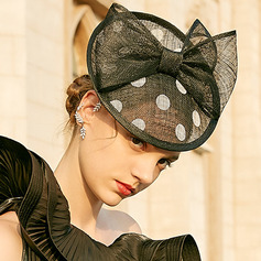 Dames Simple/Gentil/Jolie Batiste avec Bowknot Chapeaux de type fascinator