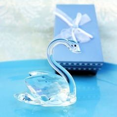 Crystal Swan Wedding Favor (Sold in a single piece)