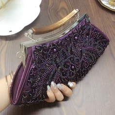 Shining Satin/Beading Clutches