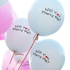 """""""Vil du gifte dig Me"""" Ballon"""