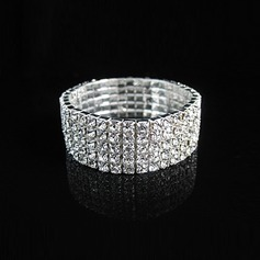 Elegant Legering met Strass Dames Armbanden