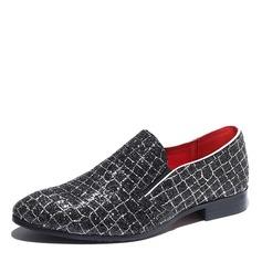 Menn Glitrende Glitter Avslappet Loafers til herre