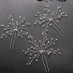 Filles Glamour Cristal Des peignes et barrettes (Lot de 3)